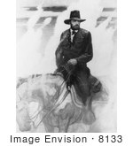 #8133 Picture Of Ulysses S Grant On A Horse