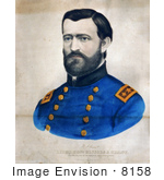 #8158 Picture Of Ulysses S Grant