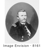 #8161 Picture Of Ulysses S Grant 18th American President