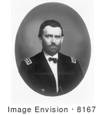 #8167 Picture Of Major General Ulysses S Grant