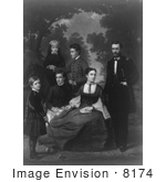 #8174 Picture Of Ulysses S Grant And Family