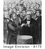 #8175 Picture Of President Grant Oath Of Office