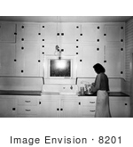 #8201 Picture Of A Woman In A Kitchen