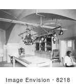 #8218 Picture of White House Kitchen 1906 by JVPD