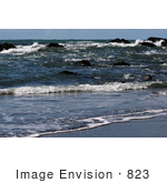 #823 Photography Of Rocks In The Ocean Along Gold Beach Oregon
