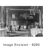 #8280 Picture Of Dining Room Of Willard Hotel