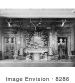 #8286 Picture Of White House Dining Room