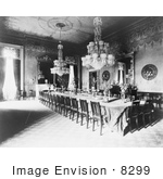 #8299 Picture Of State Dining Room