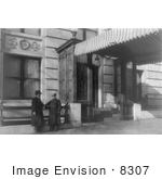 #8307 Picture Of Entrance Of Willard Hotel