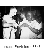 #8346 Picture Of A Togo Man Getting A Smallpox Vaccination