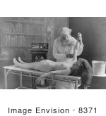 #8371 Picture Of A Woman Being Autopsied