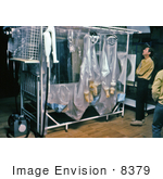 #8379 Picture of Bed Isolator Unit Used During Virus Outbreaks - 1977 by KAPD