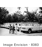 #8383 Picture Of 1969 Truck Ceremony In Burkina Faso During The Worldwide Smallpox Eradication