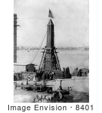 #8401 Picture Of Moving Cleopatra'S Needle