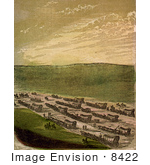 #8422 Picture Of Caravan Of Emigrants