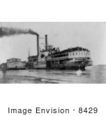 #8429 Picture Of The Steamboat Sultana