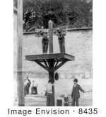 #8435 Picture of a Whipping Post and Pillory by JVPD