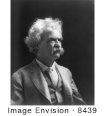 #8439 Picture of Mark Twan (Samuel Langhorne Clemens) by JVPD