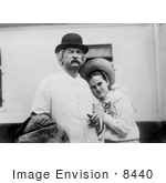 #8440 Picture of Dorothy Quick With Mark Twain by JVPD