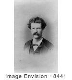 #8441 Picture Of Samuel Langhorne Clemens