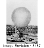 #8487 Picture Of Henry Giffard'S Balloon
