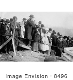 #8496 Picture Of People Waiting Marianna Mine Disaster