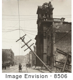 #8506 Picture Of The San Francisco Earthquake And Fire