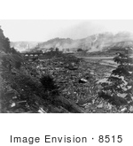#8515 Picture Of The Johnstown Flood Aftermath