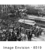 #8519 Picture Of An Explosion In Boston