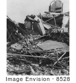 #8528 Picture of the St. Lucas Terrace, Galveston Disaster by JVPD