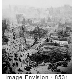 #8531 Picture Of Burned San Francisco 1906