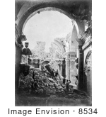 #8534 Picture Of The Church Of Saint Domingo In Ruins