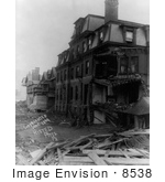 #8538 Picture Of Club House Press Great Flood Of 1889