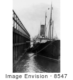 #8547 Picture of the RMS Carpathia by JVPD