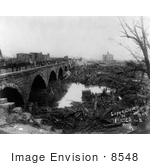#8548 Picture Of The Johnstown Flood Aftermath