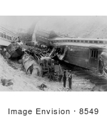 #8549 Picture Of A Train Wreck