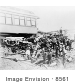 #8561 Picture Of Train Wreckage