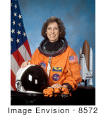 #8572 Picture Of Astronaut Ellen Lauri Ochoa