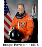 #8578 Picture Of Astronaut David M Brown