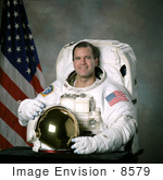 #8579 Picture Of Astronaut Paul W Richards