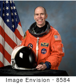 #8584 Picture Of Astronaut Daniel Thomas Barry
