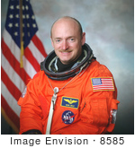 #8585 Picture Of Astronaut Mark Edward Kelly