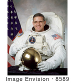 #8589 Picture Of Astronaut William Surles Mcarthur Jr