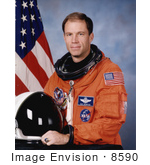 #8590 Picture Of Astronaut Richard A Searfoss