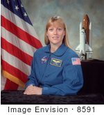 #8591 Picture Of Astronaut Kathryn P Hire