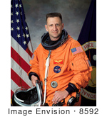 #8592 Picture Of Astronaut Christopher Joseph Loria