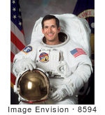 #8594 Picture Of Astronaut John Bennett Herrington