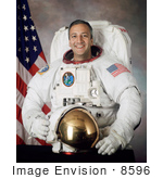 #8596 Picture Of Astronaut Michael J Massimino