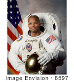 #8597 Picture Of Astronaut Robert Lee Curbeam Jr