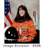#8598 Picture of Astronaut Janet Lynn Kavandi by JVPD